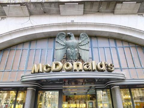 In Porto, Portugal, a historic building from the 1930s that was once known as the Imperial Cafe is now home to a McDonald's.