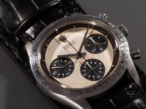 ... but prices can reach up to the several millions. Paul Newman's Rolex Daytona sold for a whopping $17.8 million at auction in 2017, making it the most expensive watch ever sold at auction.
