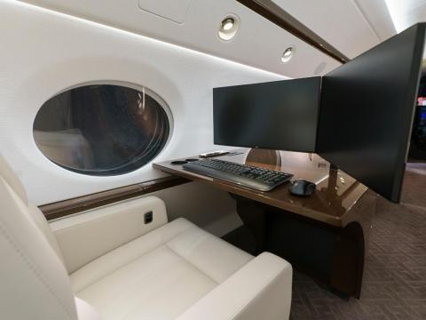 """Privacy, productivity, comfort, luxury and convenience are some of the major differences between flying private vs. commercial,"" Roth said."