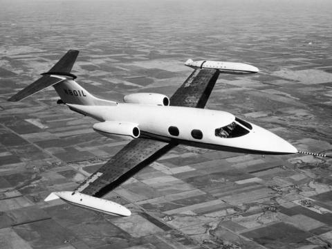 Private aviation didn't start becoming popular until the 1960s, after the first Learjet took flight in 1963.