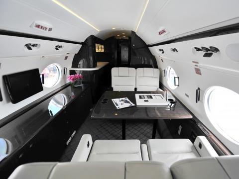 Private planes are designed to be more luxurious and comfortable than commercial planes.