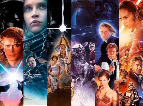 ¿En qué orden ver la saga Star Wars?