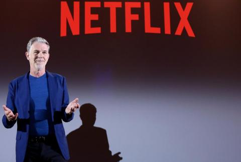 Netflix hasn't done many acquisitions and doesn't plan to make any big ones in the future, CEO Reed Hastings said.