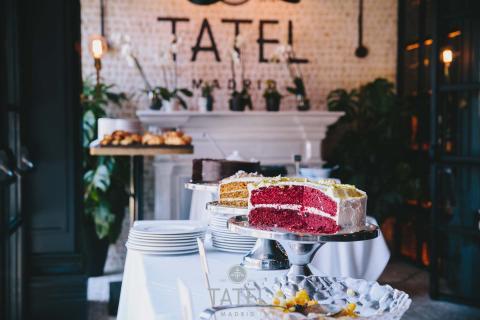 Uno de los restaurantes Tatel