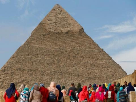 With a rich history, the city attracts several million tourists per year. In 2017, Cairo hosted 8.3 million visitors.