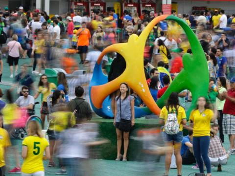 Rio De Janeiro, Brazil, is home to 13.2 million residents. During the 2016 Olympics, more than 490,000 people attended daily games.