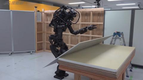 El robot constructor japonés.