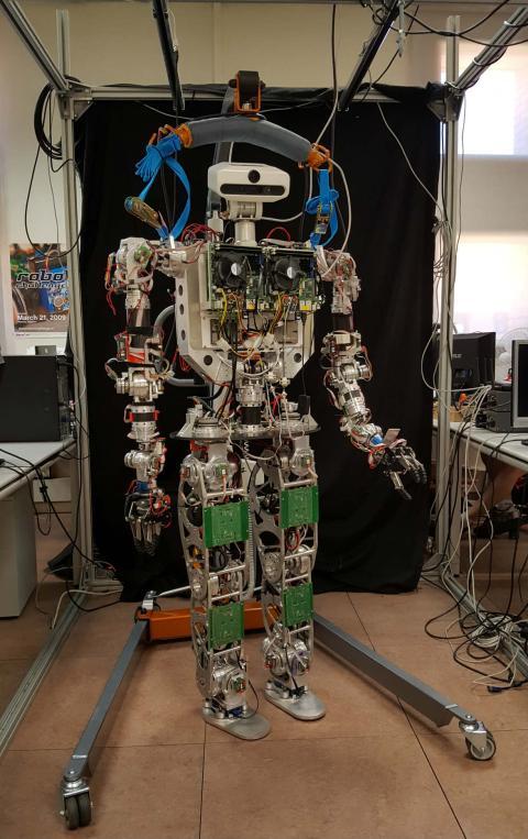 El robot TEO en la Universidad Carlos III de Madrid.