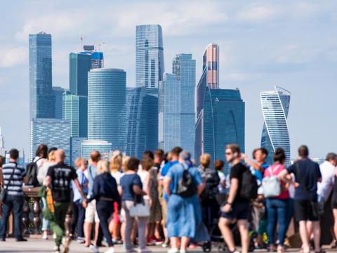 Russia is the largest country in the world and its capital, Moscow, is the most populated city with 12.4 million residents.