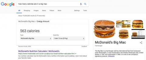 SEARCH RESULTS: Google is the gold standard.