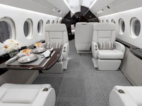 The shifting tastes of private jet owners toward more modern and contemporary styles reflects the backgrounds, cultures, and ages of the owners, Alfano said.