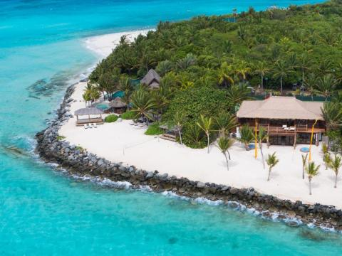 Sir Richard Branson bought Necker Island in the British Virgin Islands for about $320,000 dollars in 1979.