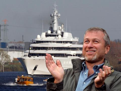 Some of the world's wealthiest people are owners of superyachts. Russian billionaire Roman Abramovich bought his yacht, Eclipse, in 2010. Reports of its cost vary, ranging from $600 million up to $1 billion.