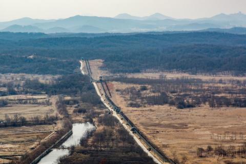 In South Korea, I took a day trip to the country's border with North Korea, also known as the demilitarized zone, or DMZ. It's one of the world's most heavily fortified borders.