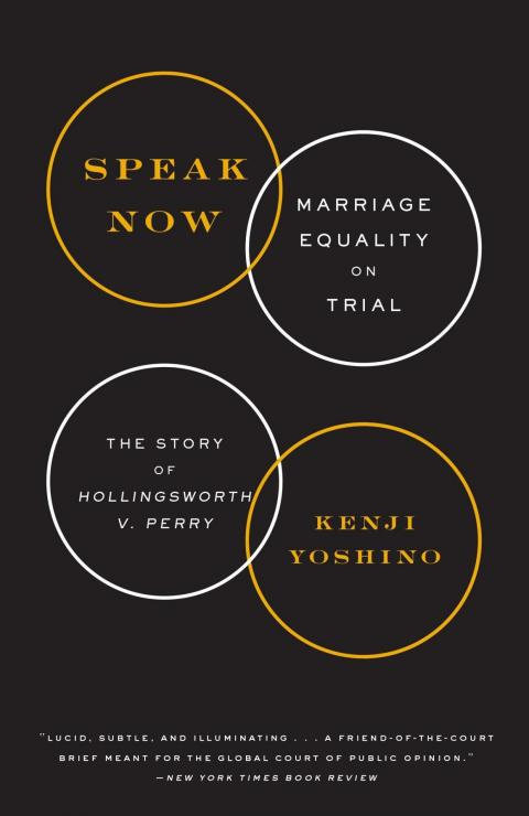 """Speak Now: Marriage Equality on Trial"" by Kenji Yoshino"