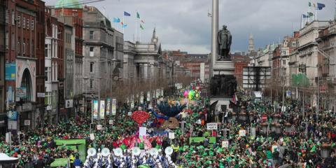 St Patrick's Day in Dublin