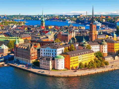 Stockholm, Sweden, is home to plenty of coders and unicorns, leading the tech industry in Scandinavia.