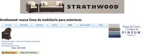 De momento, en España, sólo hay disponible una silla.