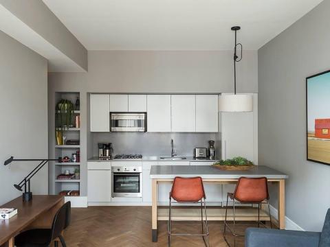 Las suites incluyen cocinas completamente equipadas [RE]