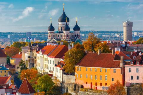 Tallín. Estonia.