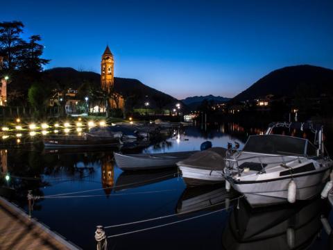 Thinking of enjoying a quiet night docked in the marina?