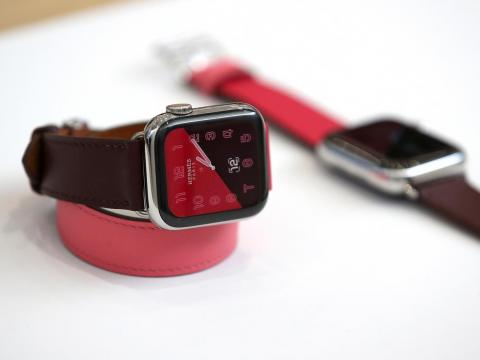 For those looking for a spruced-up Apple watch without spending tens of thousands of dollars, the Hermès Apple watch collaboration may be a more viable option: Retail start at $1,399.