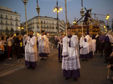 Traveling to Madrid during Easter is both remarkable and overly crowded. The Semana Santa, or Holy Week, is a weeklong religious observance with parades and prayer.