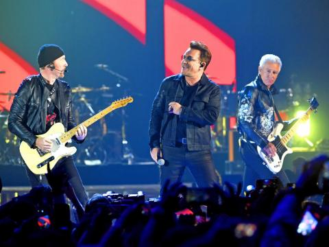 U2 was the highest-paid musical act in 2017 earning $54.4 million according to Billboard's annual Money Makers report. About 95% of the group's total earnings came from touring.