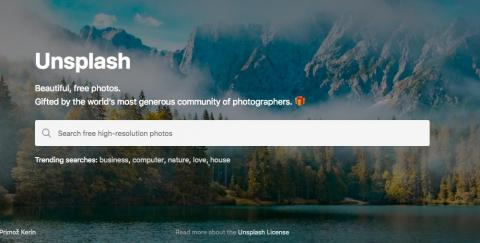 Use Unsplash over Google Images for stunning stock photography.