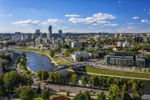 Vilnius. Lituania.