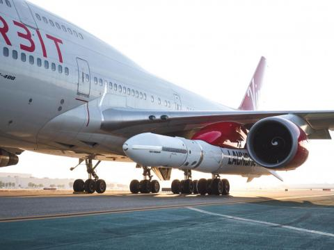 "Virgin Orbit's next step is to pull off a series of ""captive carry"" flights, in which Cosmic Girl takes off and flies around with LauncherOne attached to its wing."