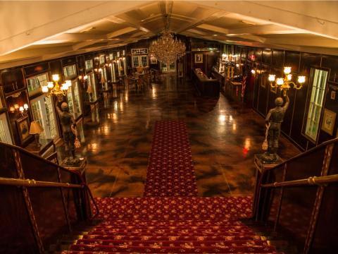 ¿Qué es una mansión victoriana sin un salón de baile?