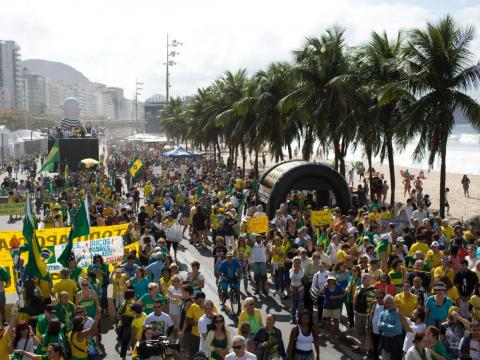 While Brazil prepared for the Rio games, 825 families were forced to relocate to neighboring cities built by the government. The city saw up to 2,000 families relocate in preparation for the Olympic games since 2009.