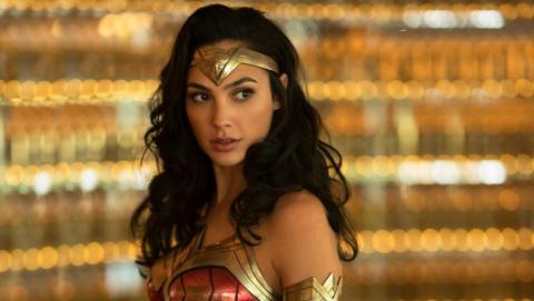 """Gal Gadot como Wonder Woman en """"Wonder Woman 1984""""."""