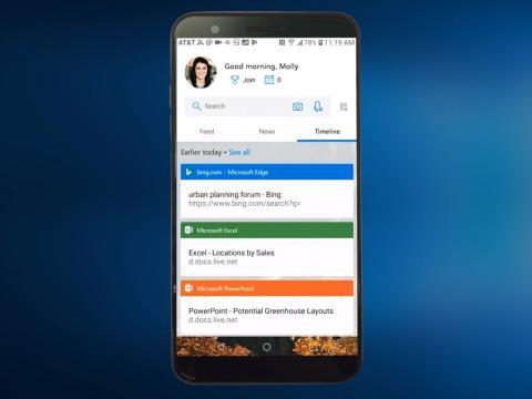 Tu Timeline en Windows 10 también se puede ver en tu iPhone o teléfono Android [RE]
