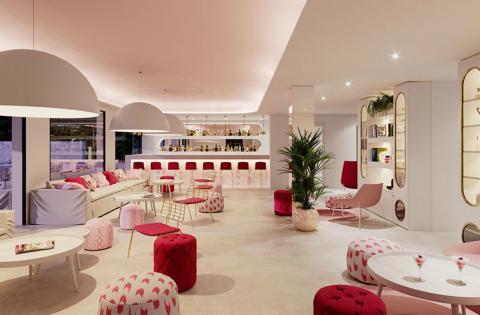 Una de las zonas comunes del Hotel Som Dona de Mallorca