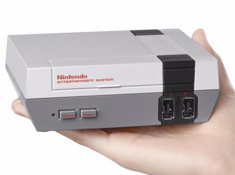 1. NES Classic Edition — a miniaturized version of the original Nintendo Entertainment System (NES).