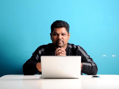 Freshworks CEO Girish Mathrubootham.