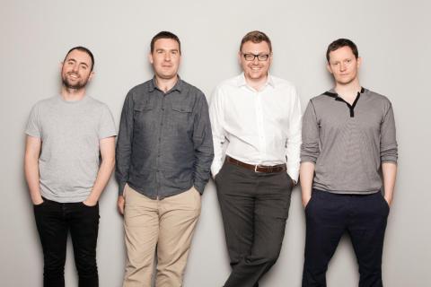 The Intercom cofounders.