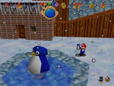"""1996 - """"Super Mario 64"""" (Nintendo 64)"""