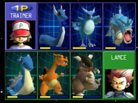 """2000 - """"Pokémon Stadium"""" (Nintendo 64)"""
