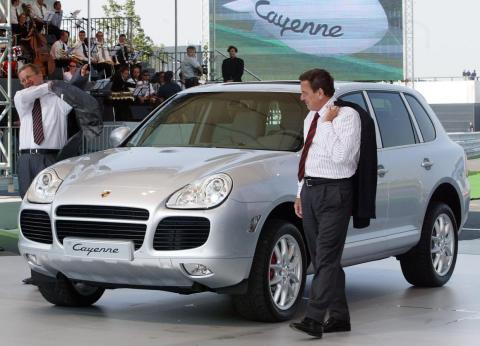 The 2000s: Porsche Cayenne