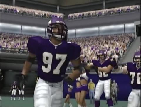 """2001 — """"Madden NFL 2002"""" (PlayStation 2, GameCube, Xbox, PC, Game Boy Color, Nintendo 64, Game Boy Advance)"""