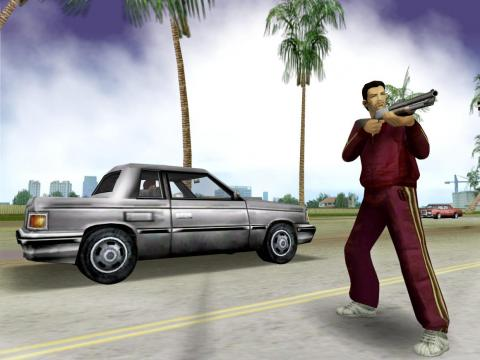 "2002 - ""Grand Theft Auto: Vice City"" (PlayStation 2)"