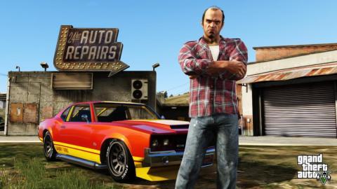 """2013 — """"Grand Theft Auto V"""" (Xbox 360, PlayStation 3)"""