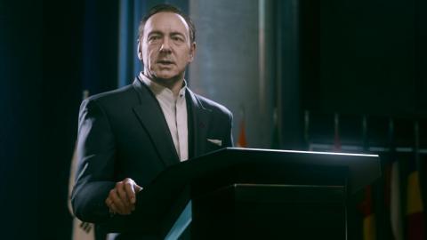 """2014 — """"Call of Duty: Advanced Warfare"""" (PlayStation 4, Xbox One, PC, Xbox 360, PlayStation 3)"""
