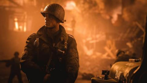 """2017 — """"Call of Duty: WWII"""" (PlayStation 4, Xbox One, PC)"""