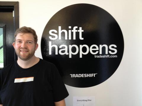 El CEO de Tradeshift, Christian Lanng.