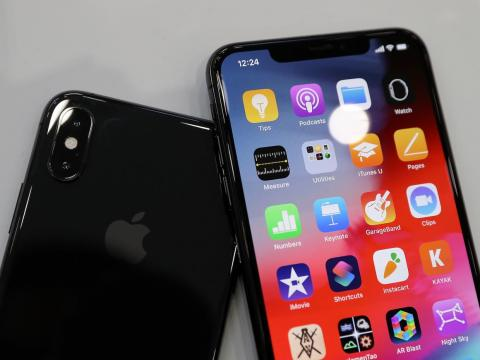 The iPhone XS comes with more starting storage than the iPhone X.