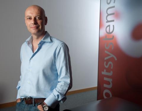 OutSystems CEO Paulo Rosado.